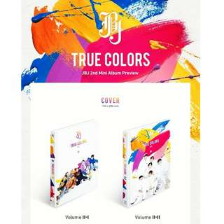 ON HAND SEALED ALBUM JBJ TRUE COLORS W/ POSTER