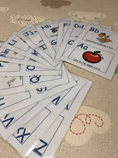 Laminated Phonics Set