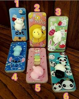 3D squishy cartoon case