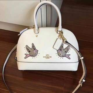 FREE SHIP Coach Dome Sierra Satchel Handbag patch style2