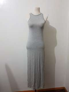 Long Grey Dress