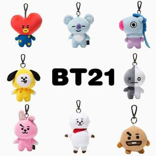 ON HAND OFFICIAL GOODS BAGCHARM 12cm BT21
