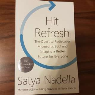 Hit Refresh (By Microsoft CEO Satya Nadella)