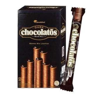 🚚 {天天隨時分享購}🔥🔥黑雪茄巧克力威化捲🔥🔥