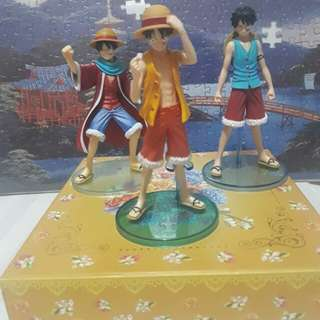 ONE PIECE LUFFY 3pc set