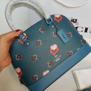 FREE SHIP Coach Dome Sierra Satchel Handbag in wildflower 1