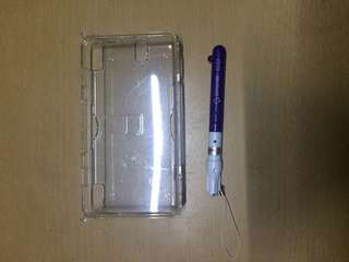 Preowned Nintendo DS clear Case
