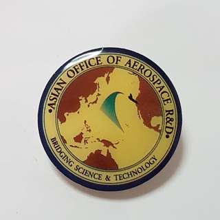 Asian Office Of Aerospace R&D Bridging Science & Technology Pin