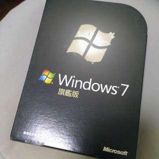 正版 Windows 7 旗艦版 (香港中文版)
