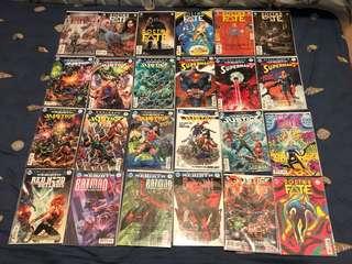 不散!!全新27本散本DC COMICS漫畫