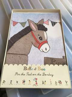BN Pin the tail on the donkey ~ Birthday/event  (retail price: $16.90)