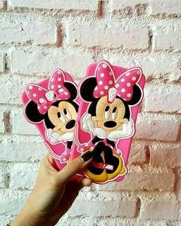 3D cute minnie pink case