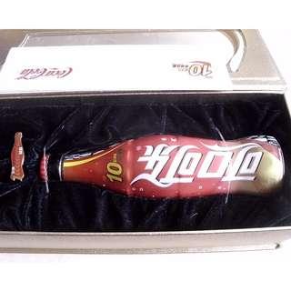 02年可口可樂中國10億箱紀念樽