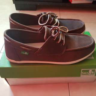 Sanuk Loafers Men's Casa Barco Deluxe Boat Shoe(Size US 8)