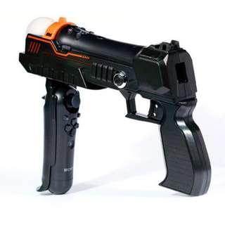 全新 PS3 PS4 MOVE 專用衝鋒槍架 Gun PS4 VR 可用