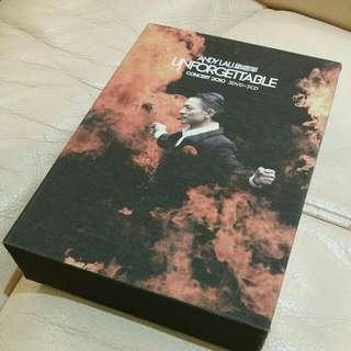 劉德華 ANDY LAU演唱會2010 DVD CD