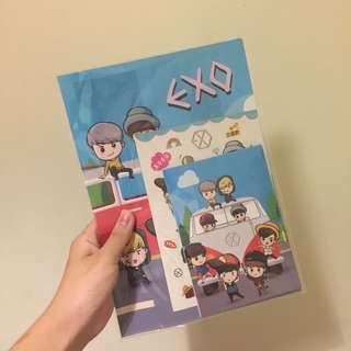 EXO L HOLDER FILE SET