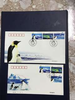 China stamp 2002-15 A/B FDC
