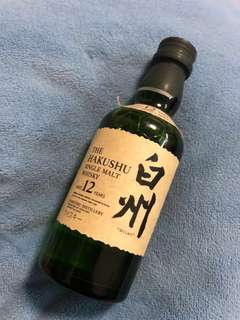 Whisky Hakushu 12 years 50ml