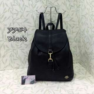 Coach Backpack Black