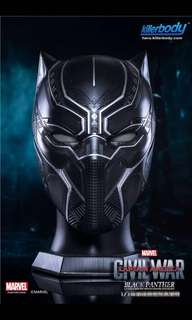 Black Panther Helmet Mask 1:1