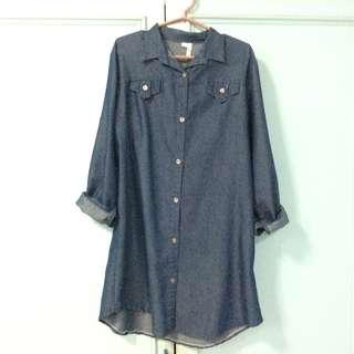 Dark Denim Polo Shirt