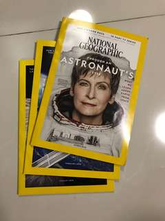 National Geographic Jan-March 2018 issues