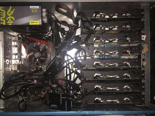 Mining Rig (Brand New) 5 available (Can Nego)