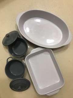 🚚 陶瓷料理盤組