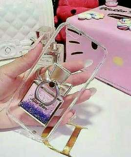 Perfume miss dior glitter with ring stand case