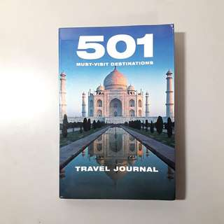501 Must-visit Destinations (Travel Journal)