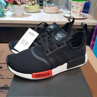 Adidas NMD Black Red Runner