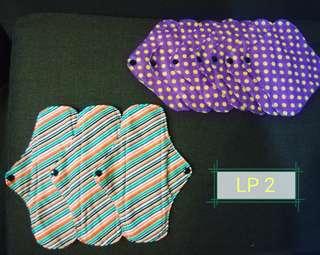 Washable Feminine Pads ( Pasador) Lite Pack 2