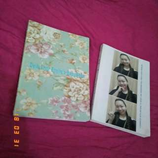 Personalized semi softbound and hardbound notebooks