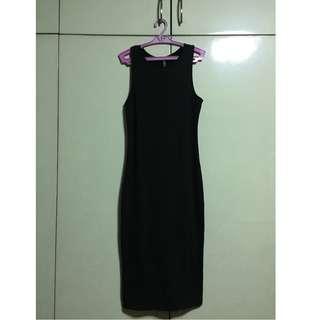 COTTON ON Sleeveless Dress (black) - XS but best fits S