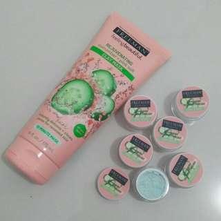 (TERMURAH) Freeman Cucumber+pink salt