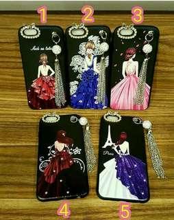 Beauty lady dress swarovski + chain case