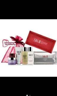 SkII Pitera Essence Skincare Set Signature Whitening