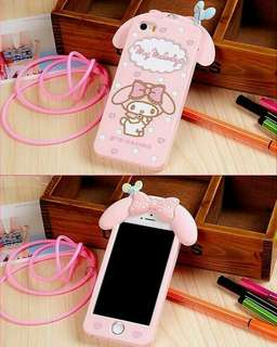 3D cute my melody silicone case