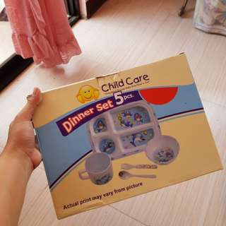 Child Care Dinner Set
