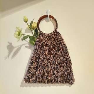 人手編織手挽包 / 手提包 / Tote bag