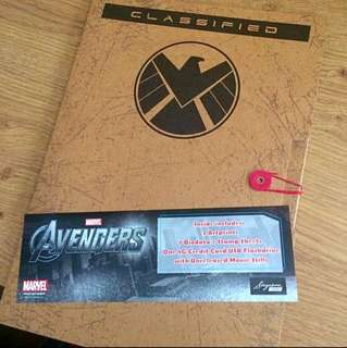 The Avengers Stamp Collection