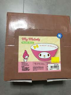 My Melody Noodle Bowl