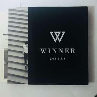 【珍藏】韓國男團WINNER出道專輯2014S/S限量版