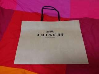 Coach | Paper Bag