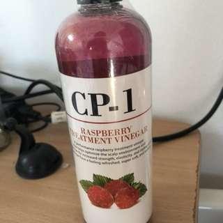 Hair treatment vinegar