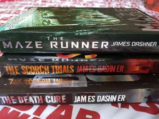 James Dashner: The Maze Runner, Scorch Trials, Death Cure