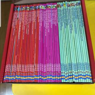 Brand new in box usborne my reading library 50 books English fairy tales story books