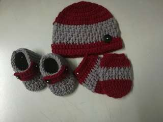 Crochet Newborn Baby Gift Set