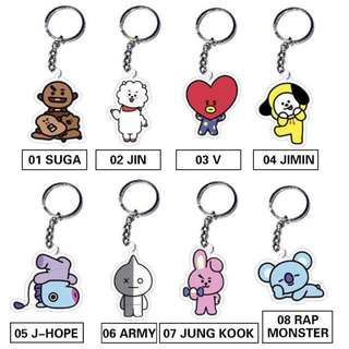 BTS Keychain